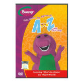 Barney Lets Learn The Alphabet A To Z - DVD