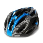 Cool style Ultra Lightweight High Rigidity Bicycle Cycling Helmet (Blue Stripe) - Intl