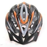 Bicycle Cycling Helmet with Visor Adjustable (Orange)- Intl