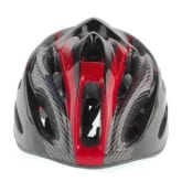 Bicycle Cycling Mountain Road Race Safety Unisex Helmet red + Visor- Intl