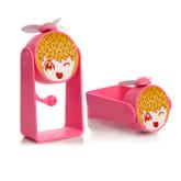 Oem OEM Cute USB Charging Mini Fan Red