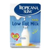 Tropicana Slim Susu Low Fat Vanilla - 180 gr