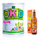 Biogreen BIOGREEN O'Kid Oatmilk 850g + BIOGREEN O'Kid Flaxseed Oil 250ml