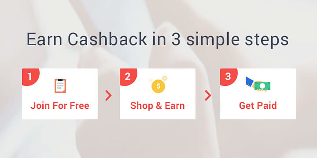 Earn Cashback in 3 simple steps