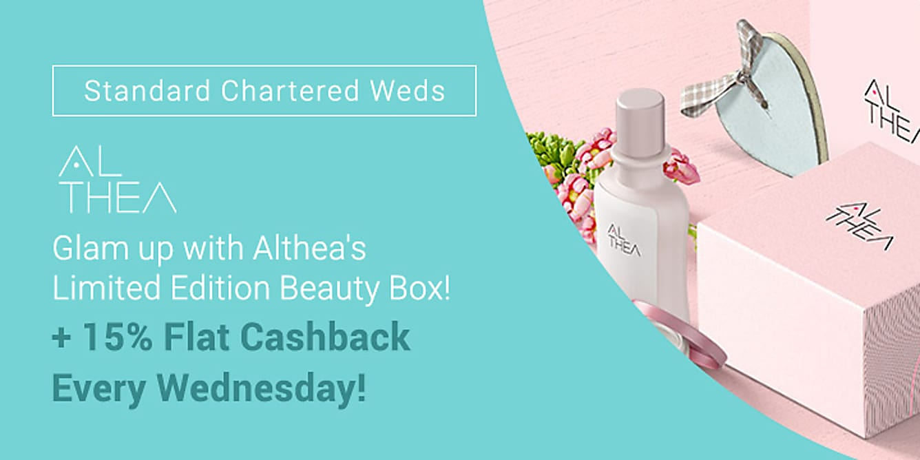 Althea SCB 15% flat cashback
