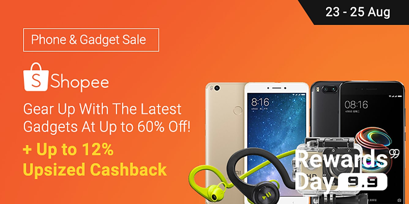 Shopee 12% Upsized Cashback
