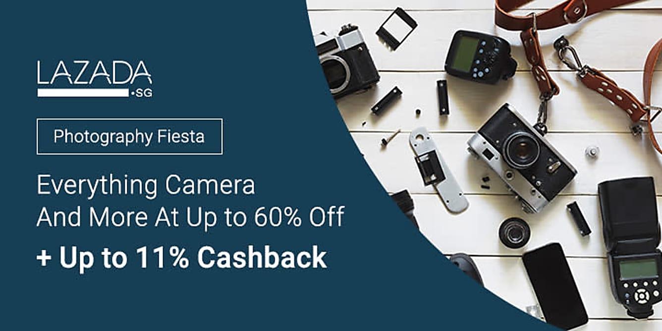 Lazada Photography Fiesta + 11% Cashback
