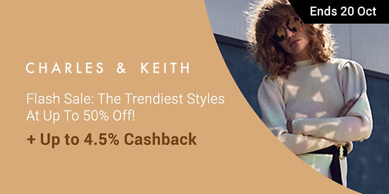 Charles & Keith Flash Sale: The Trendiest Styles At Up To 50% Off!