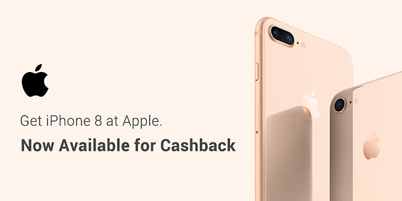 Apple: Get iPhone 8 At Apple, Now Available For Cashback!