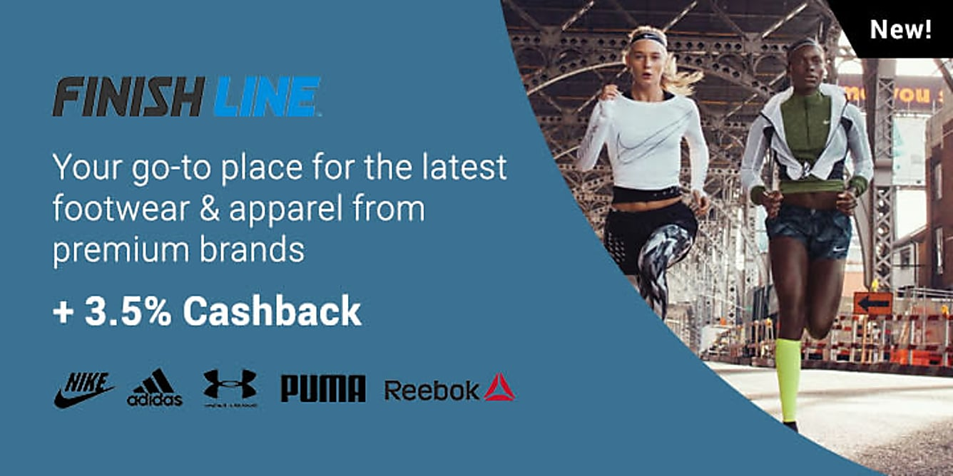 Finish Line 3.5% Cashback