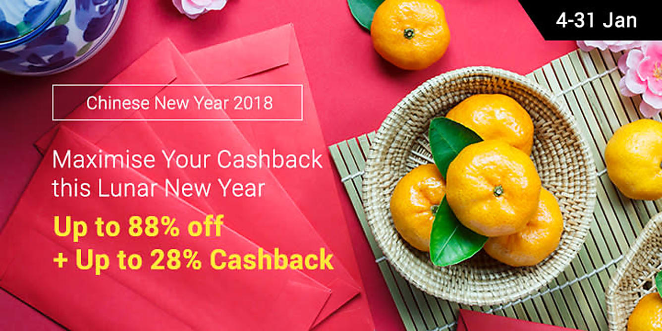 Chinese New Year up to 88% off