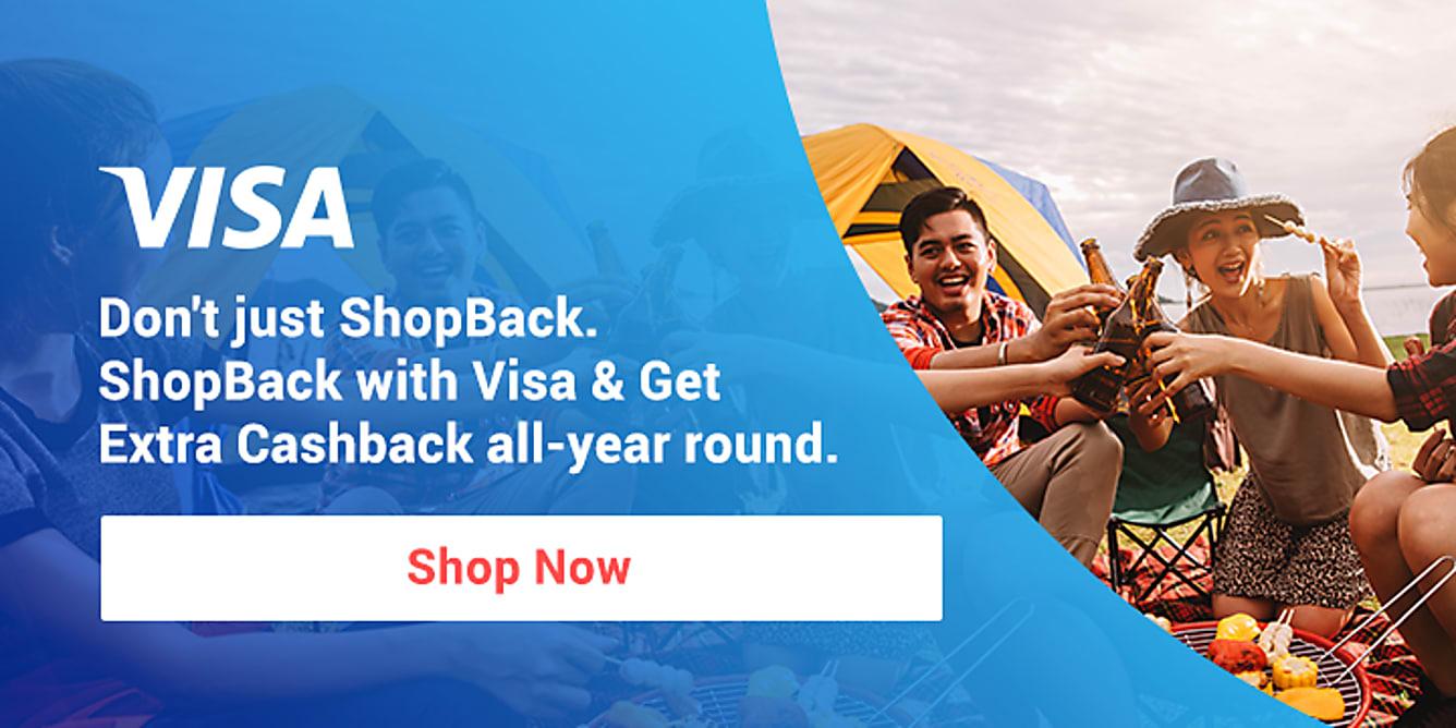 Visa Earn Extra Cashback