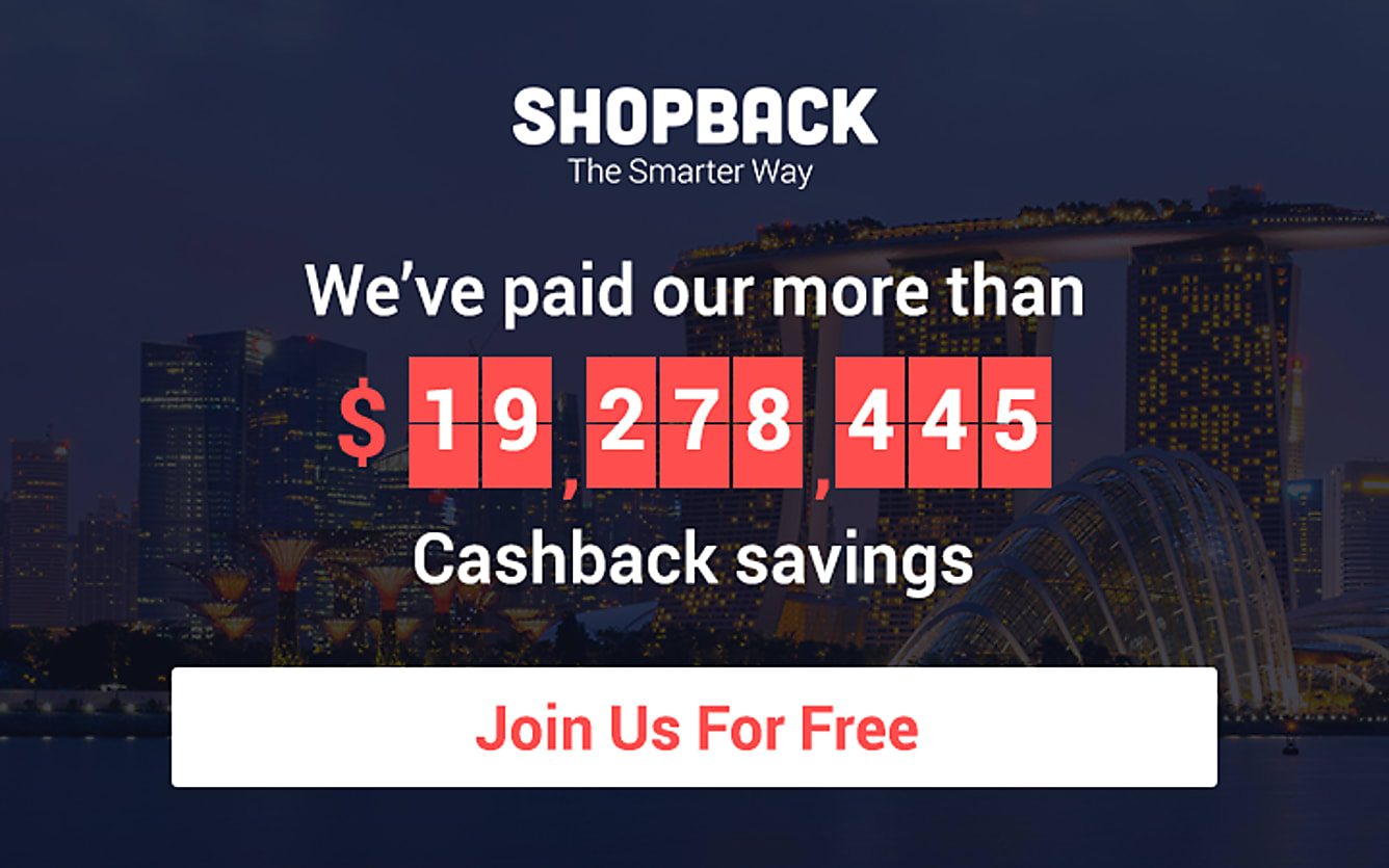 Join Us For Free ShopBack Now