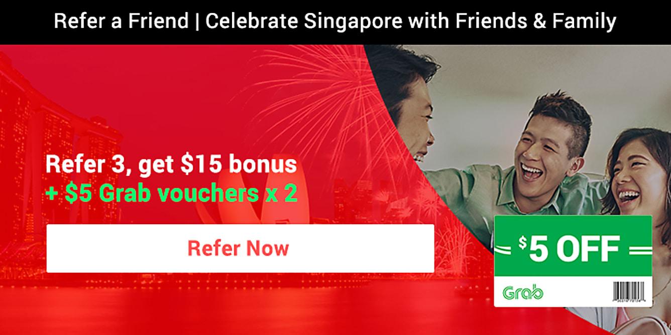 RAF refer 3 get $15 bonus till 31 August