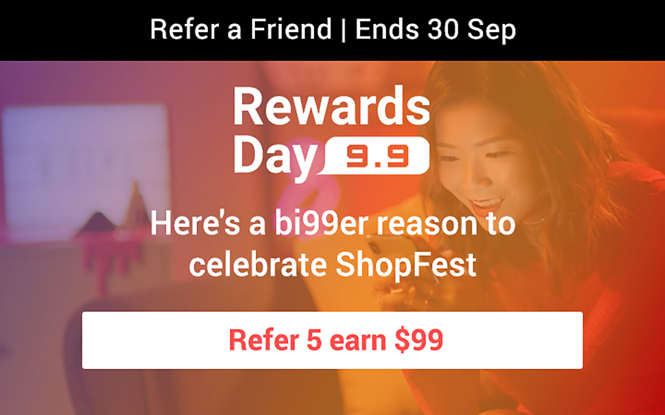 RAF refer 5 earn $99