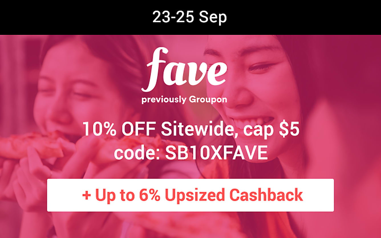 Fave 10% off sitewide