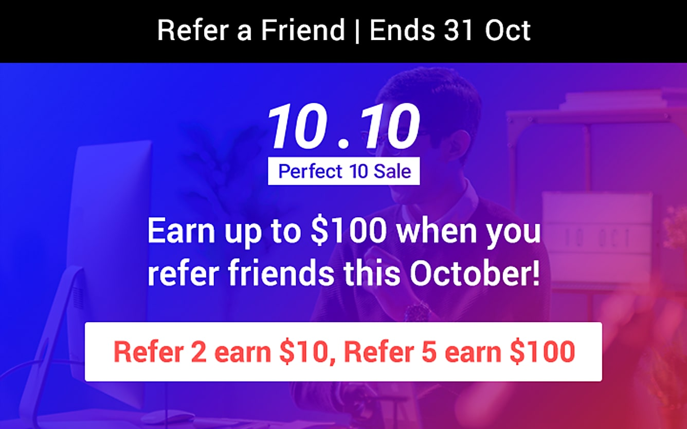 RAF refer 2 earn $10 till 31 Oct