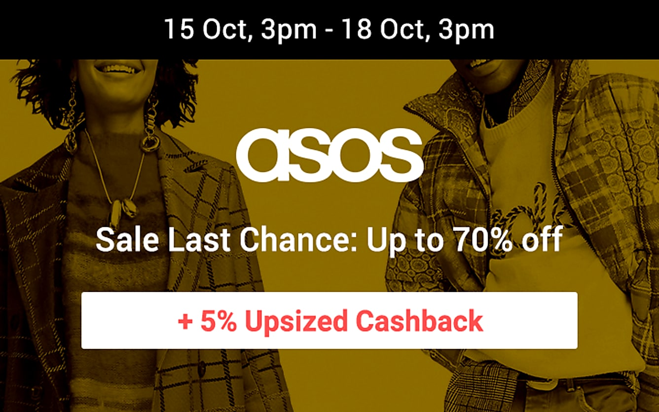ASOS Up to 70% off last chance