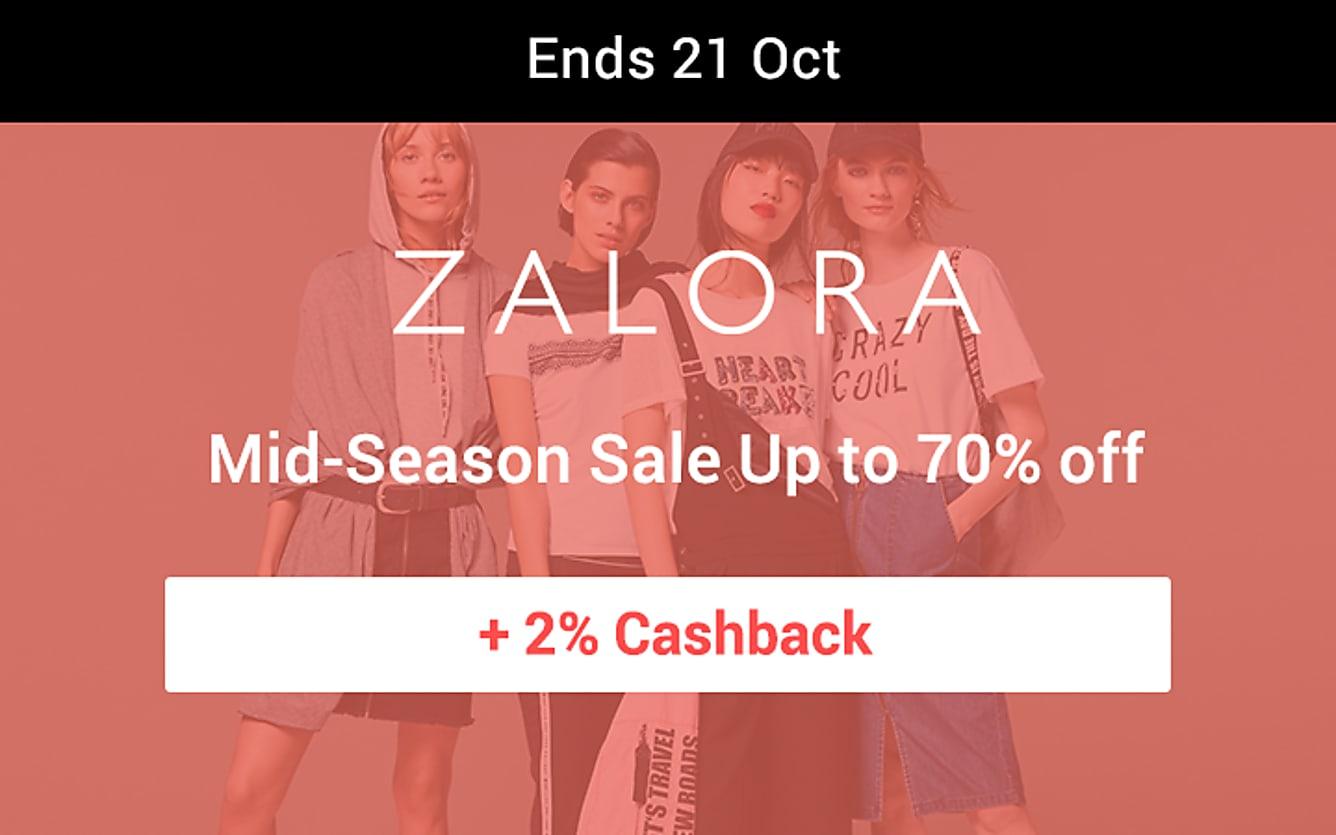 Zalora mid season sale