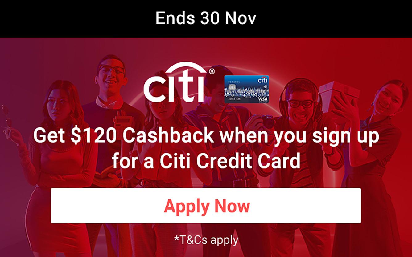 Citibank $120 Cashback