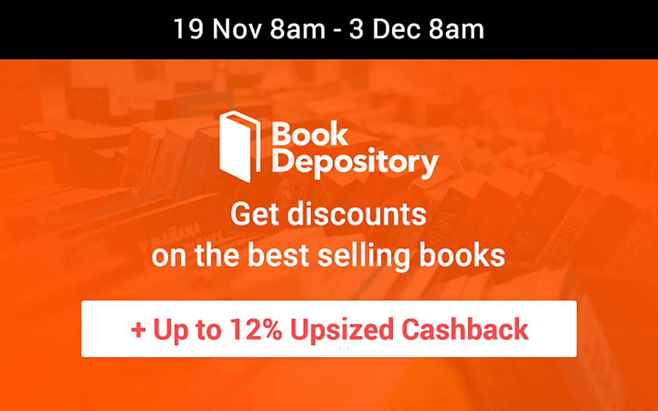 Book Depository up to 12% Cashback