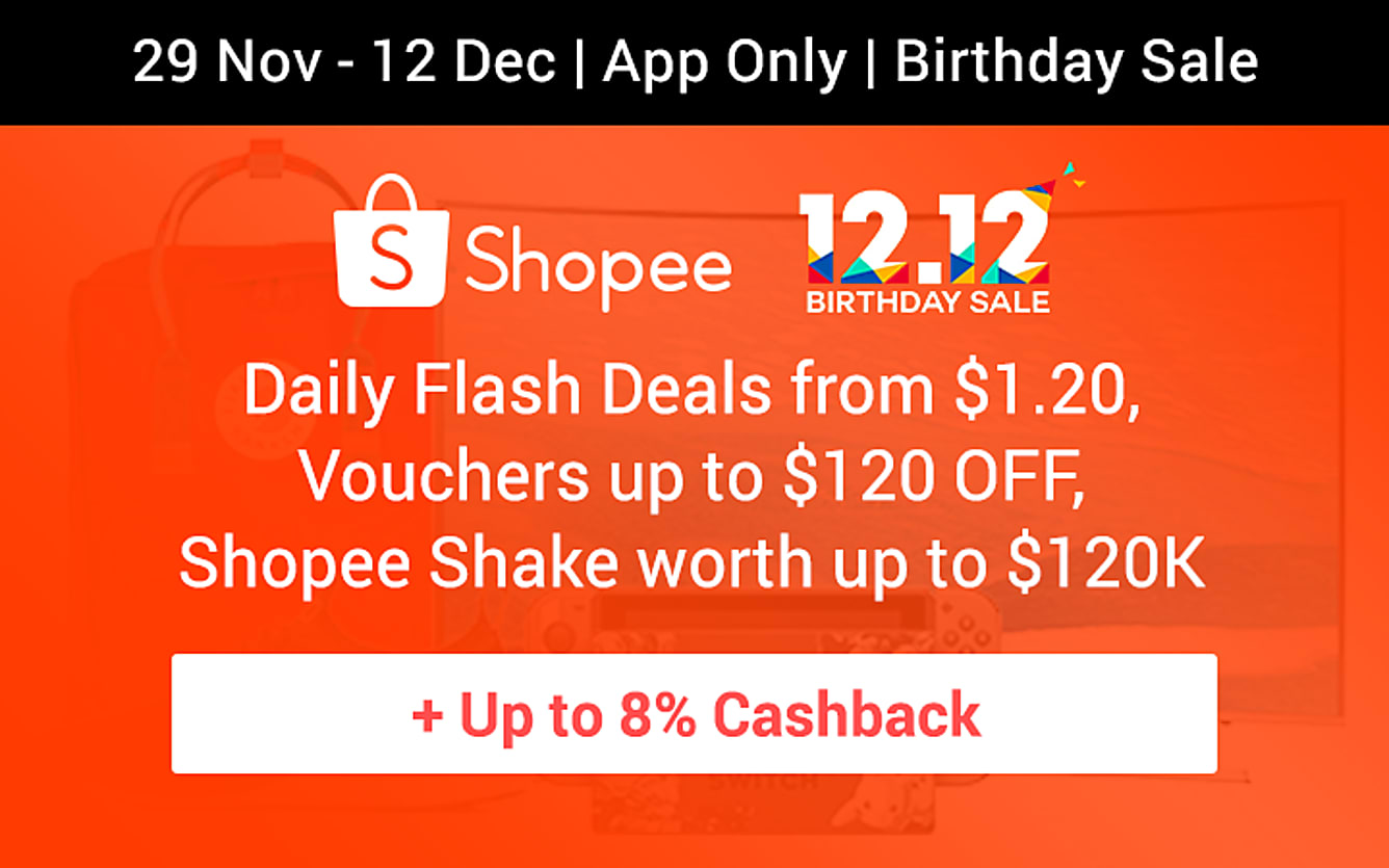 Shopee Birthday Sale