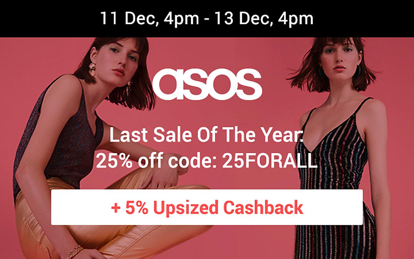 ASOS 25% off