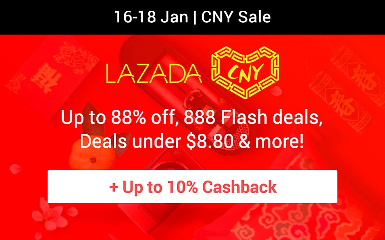 Lazada CNY sale