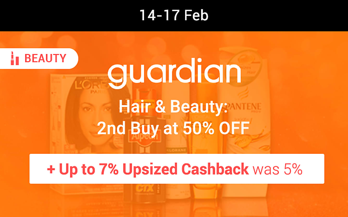 Guardian hair and beauty sale
