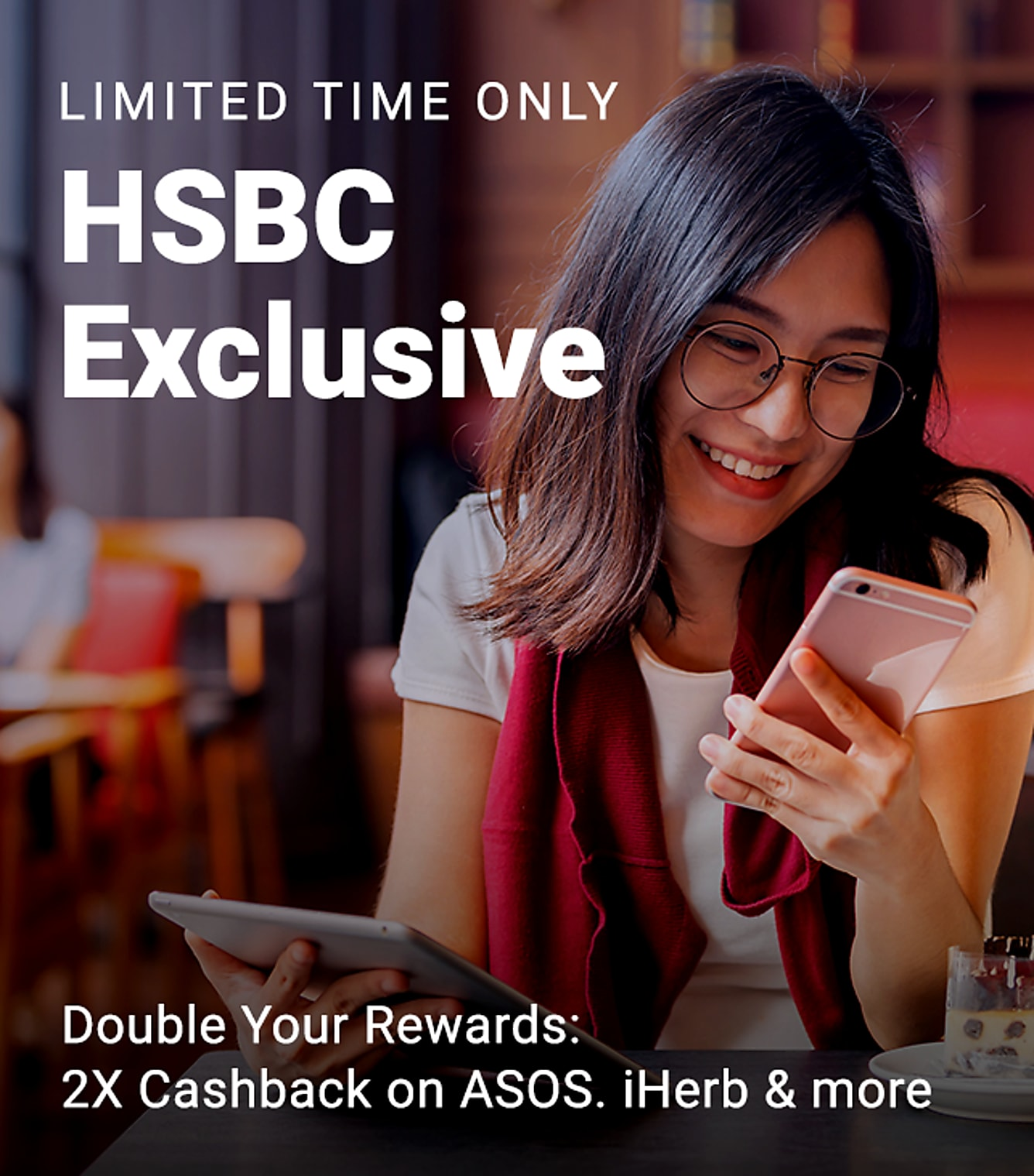 HSCB Exclusive Double Cashback
