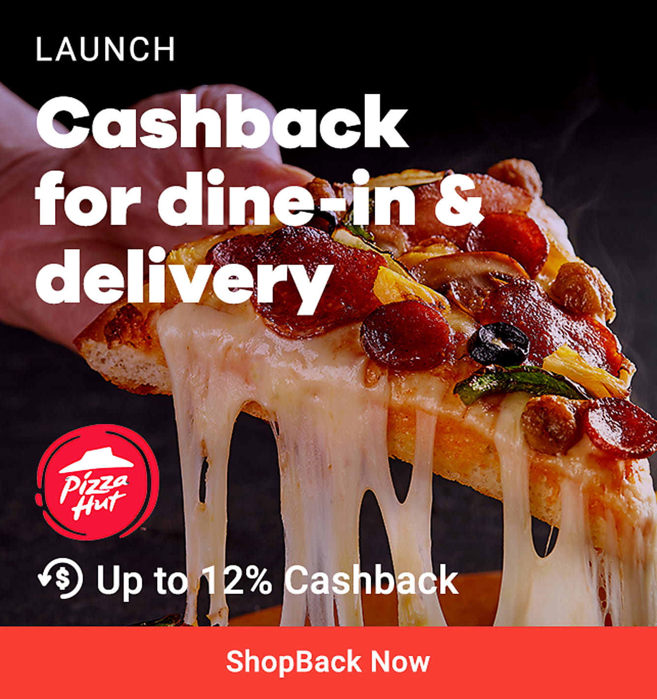 Pizzahut Delivery + GO Launch