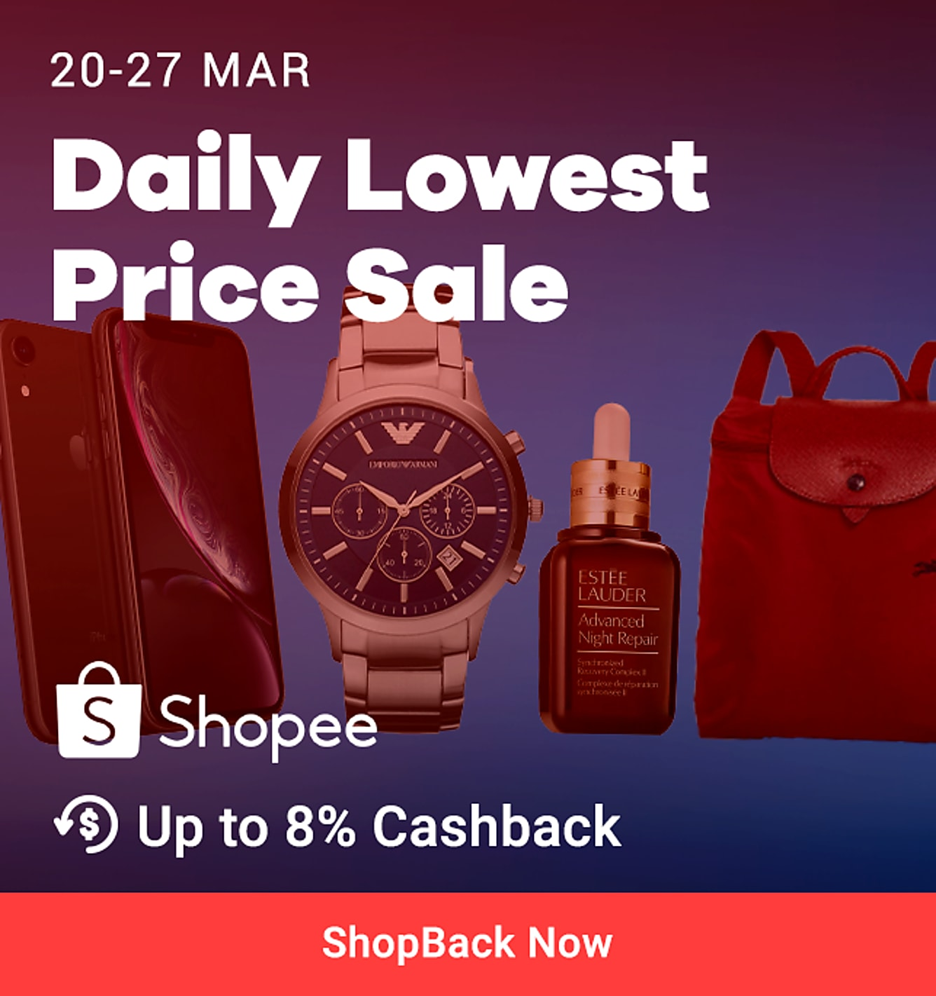 Shopee Sale 20-27 Mar