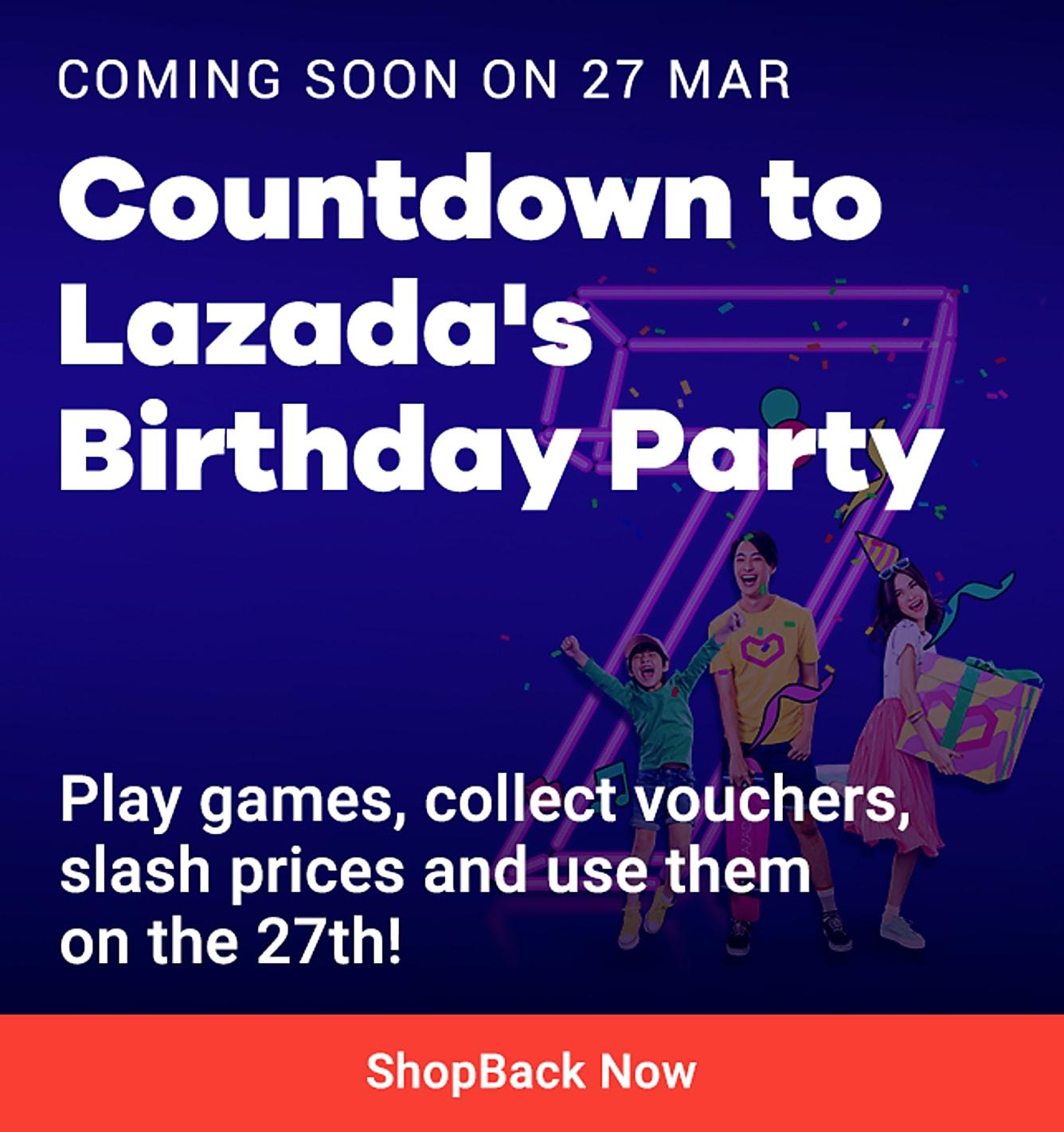 Lazada birthday teaser