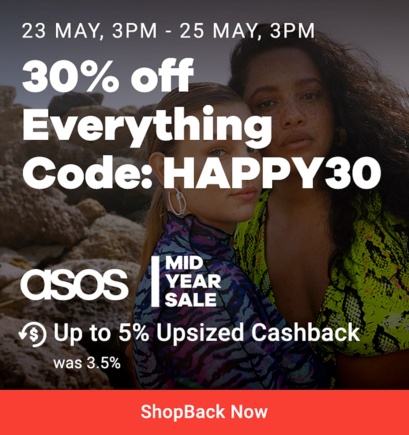 ASOS 30% off everything