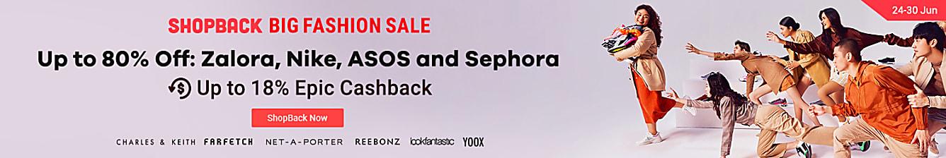 ShopBack big fashion sale 24-30 june