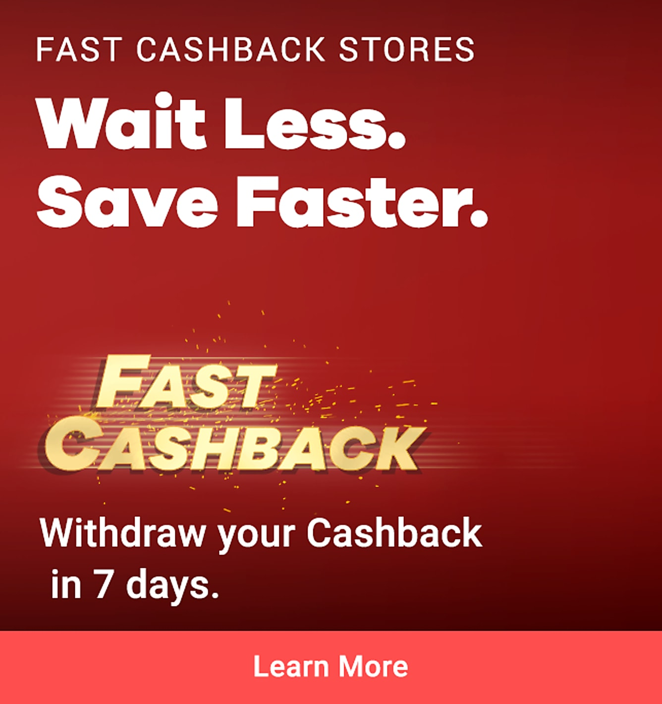 Fast Cashback: Guardian, Sephora, Qoo10, Charles & Keith (1 week claim time)