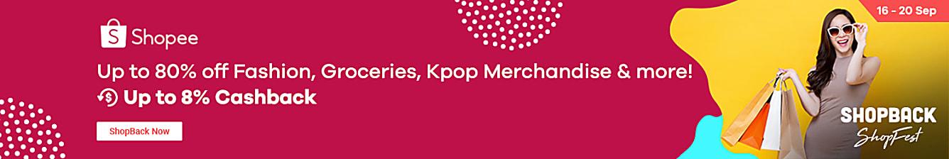 Shopee K-Beauty Sale 16-20 Sep | Beauty Sale