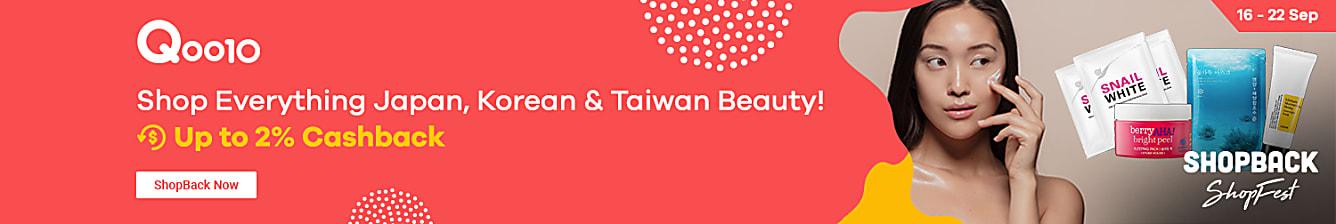 Qoo10 Asian Beauty Week 16-22 Sep | Beauty Sale