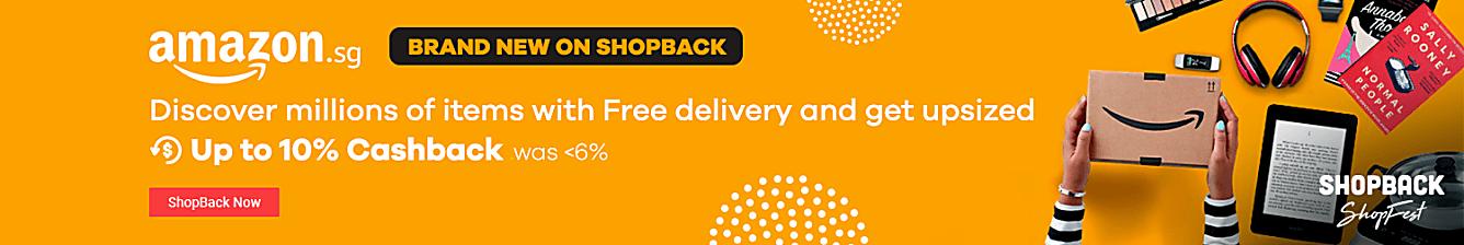 Amazon New on ShopBack