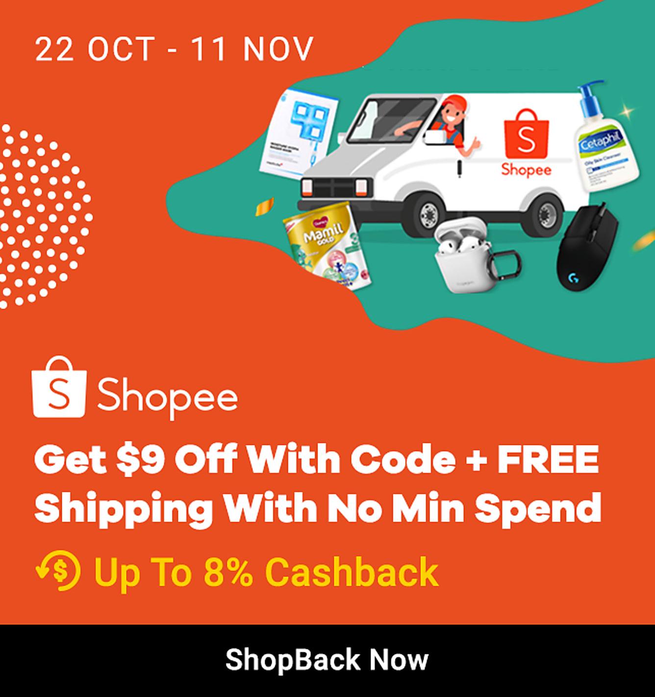 Shopee_Promo Code_11.11.2019_22 Oct-11 Nov