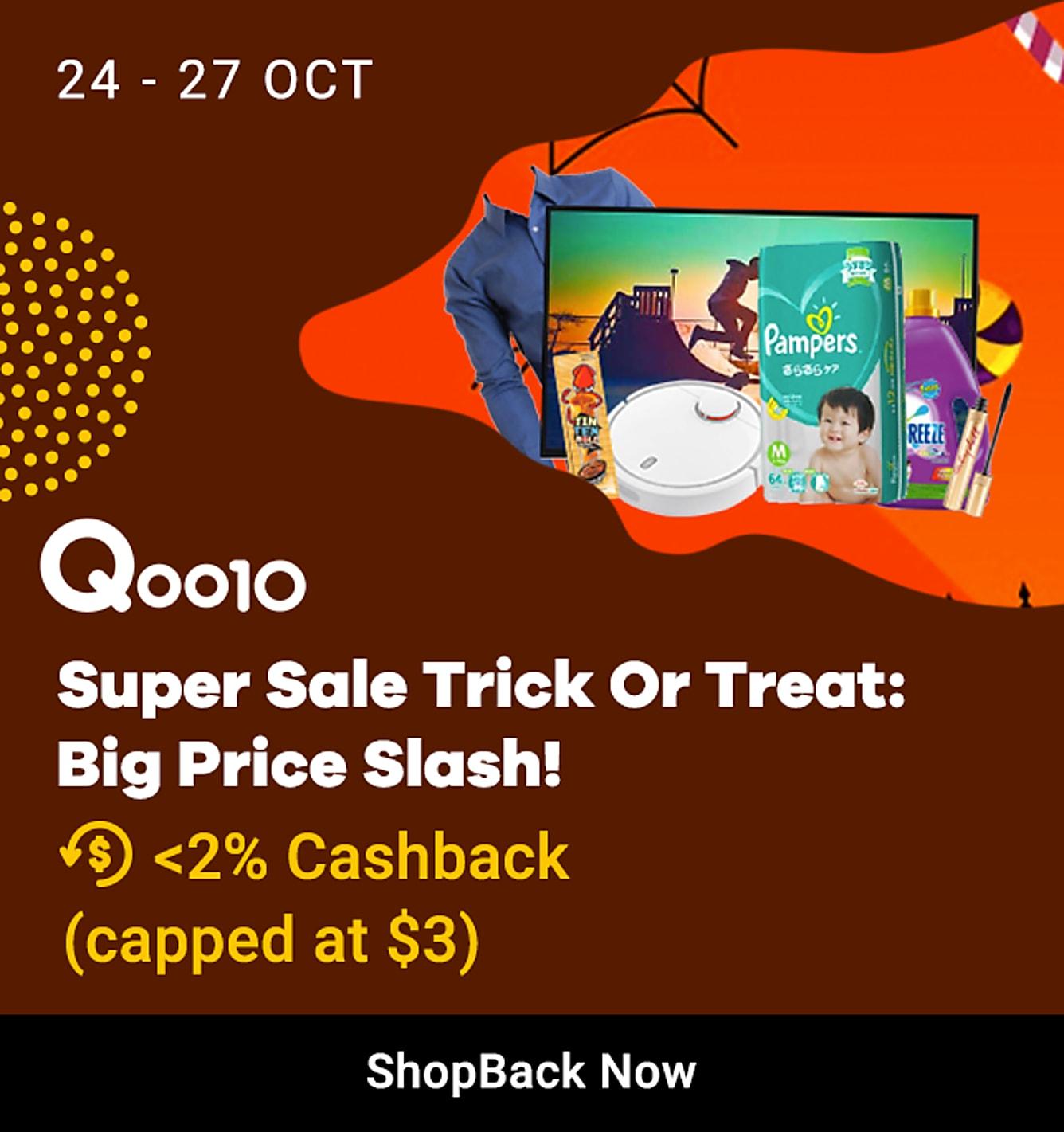 Qoo10 24-27 Super Sale