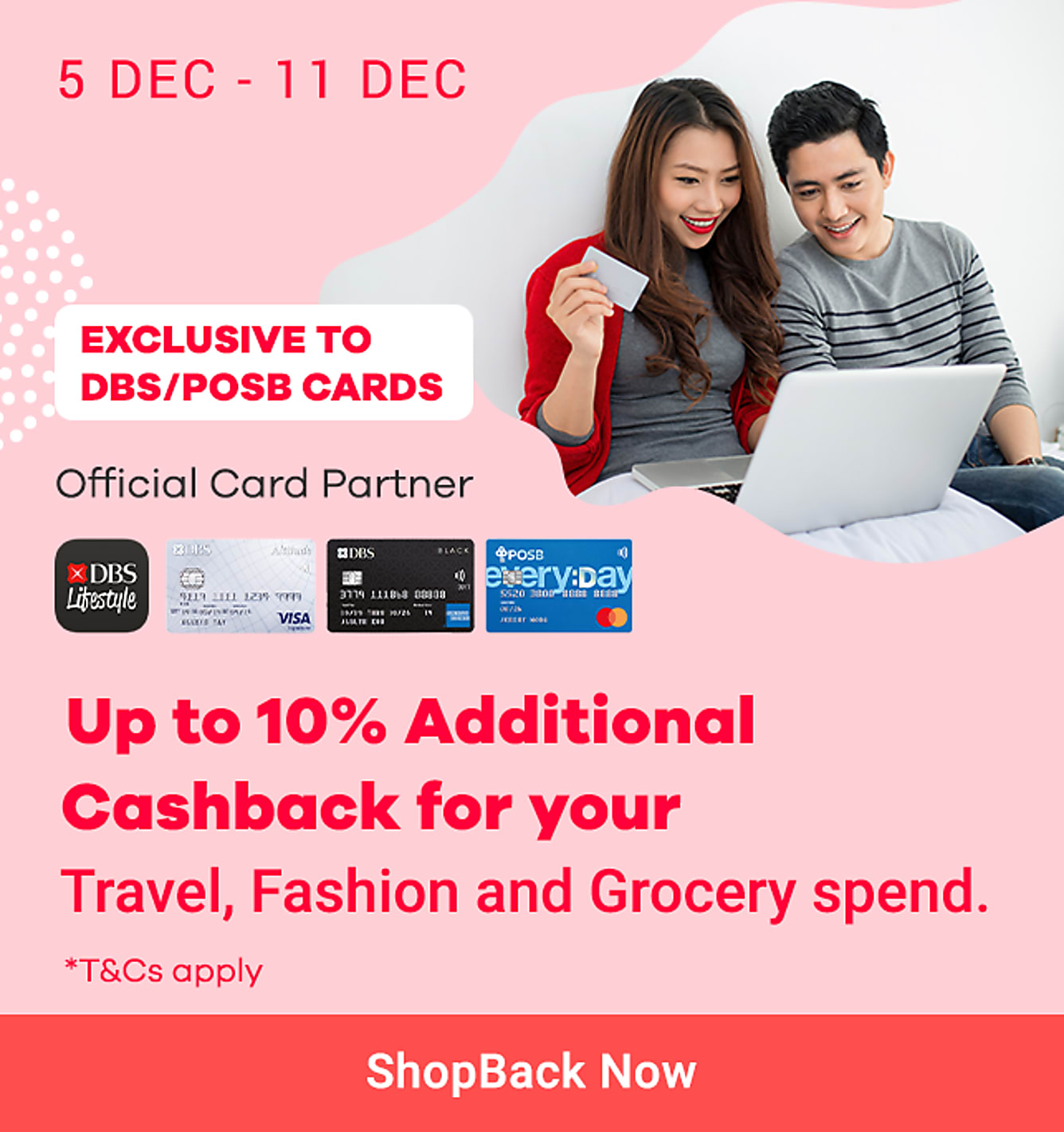 Additional 10% Cashback