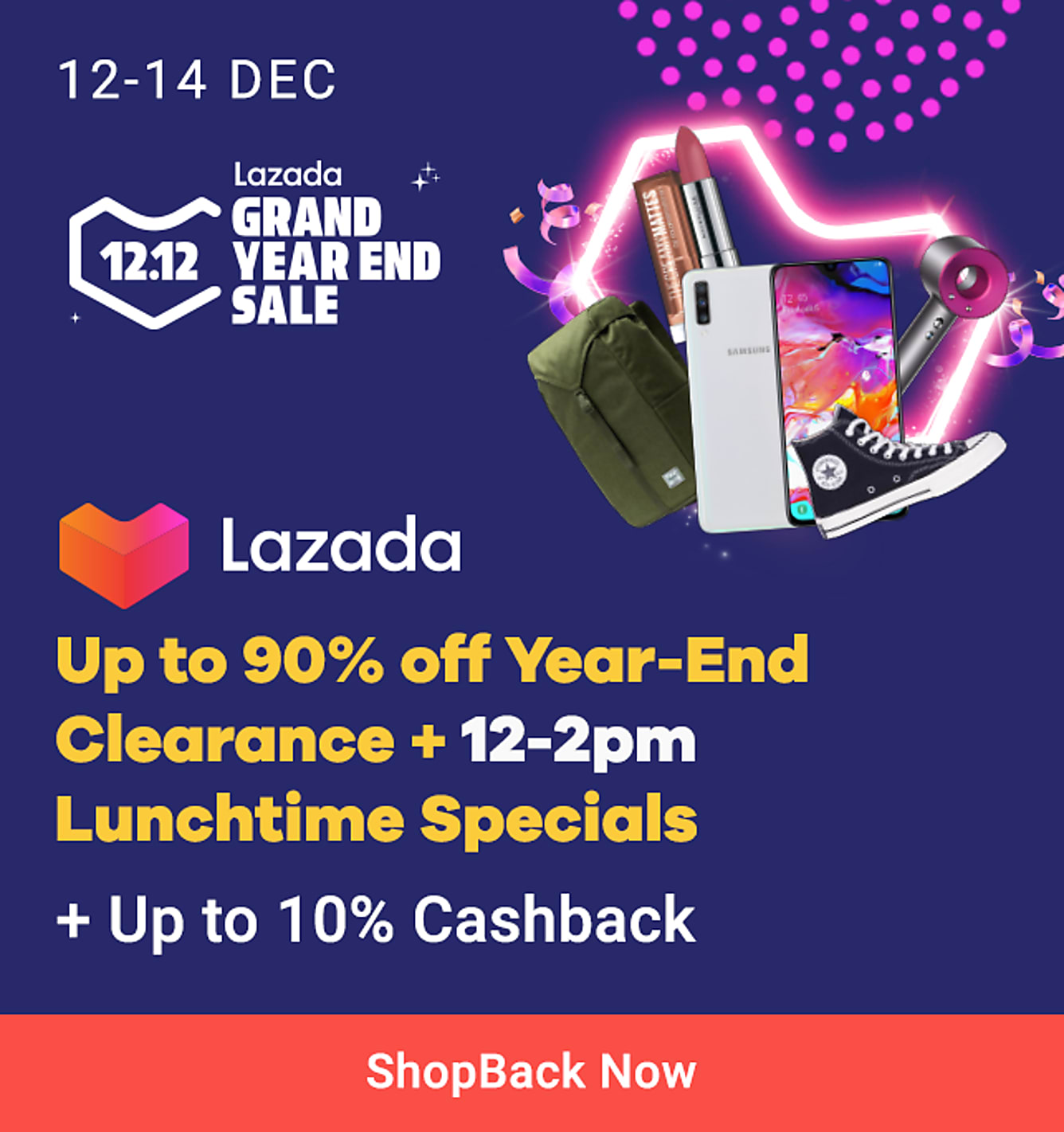 Lazada year-end clearance