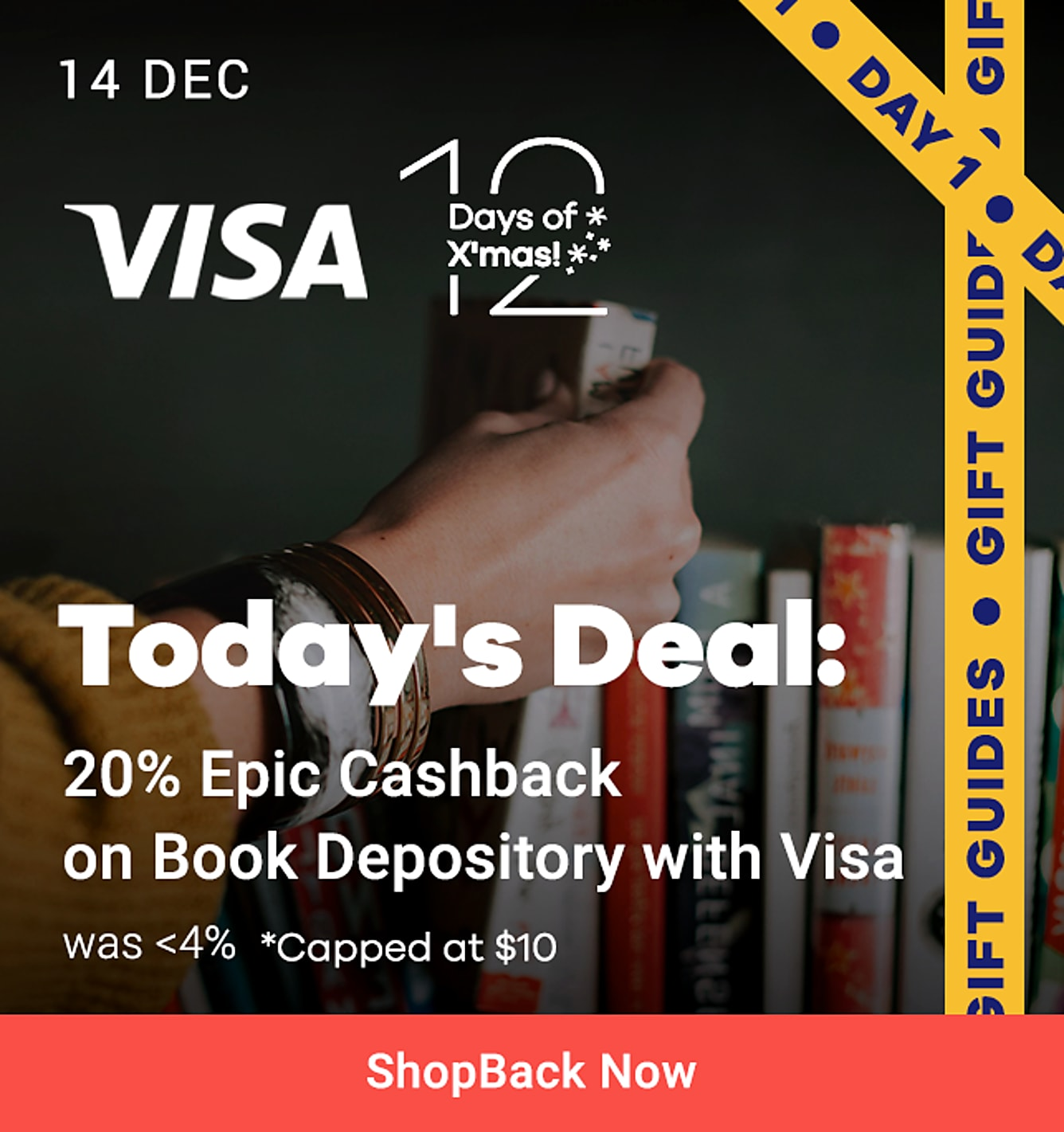 Visa's 12 Days Of Christmas