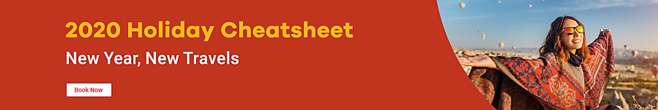 2020 holiday cheatsheet