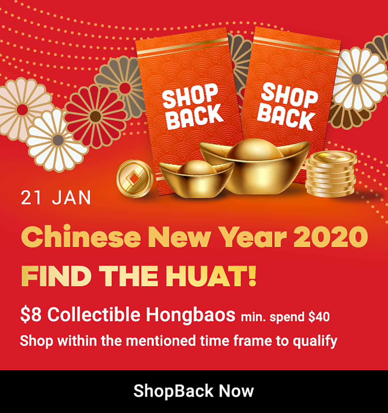 find the huat $8 collectible hongbaos