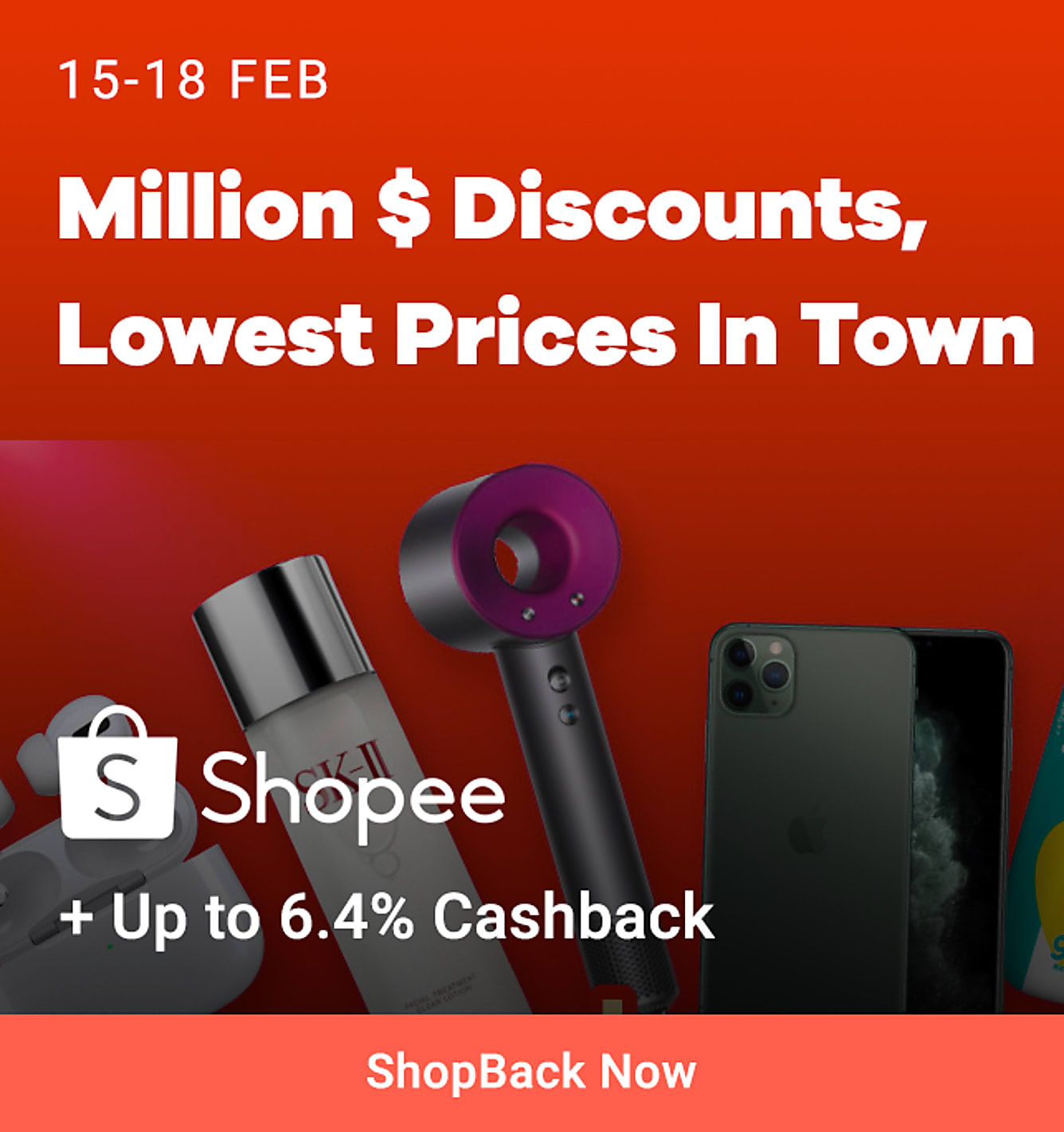 shopee million dollar discount lowest price subsidised by shopee