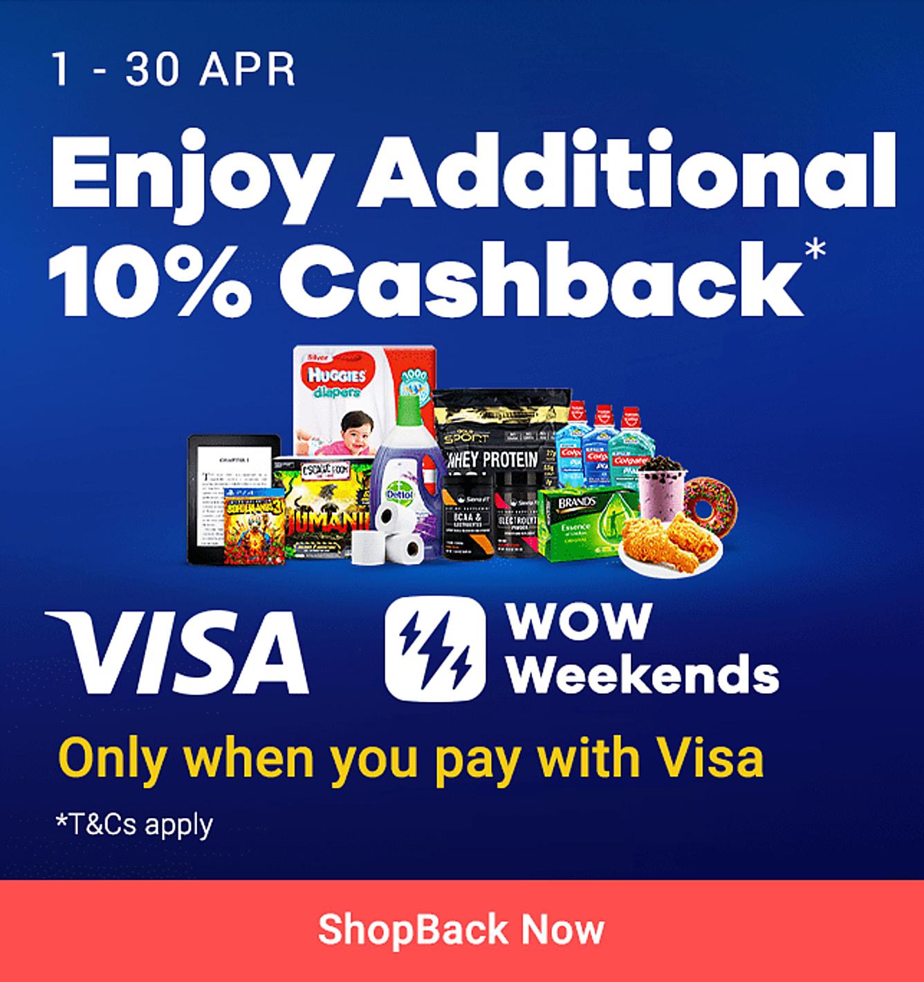 Visa Wow Weekends