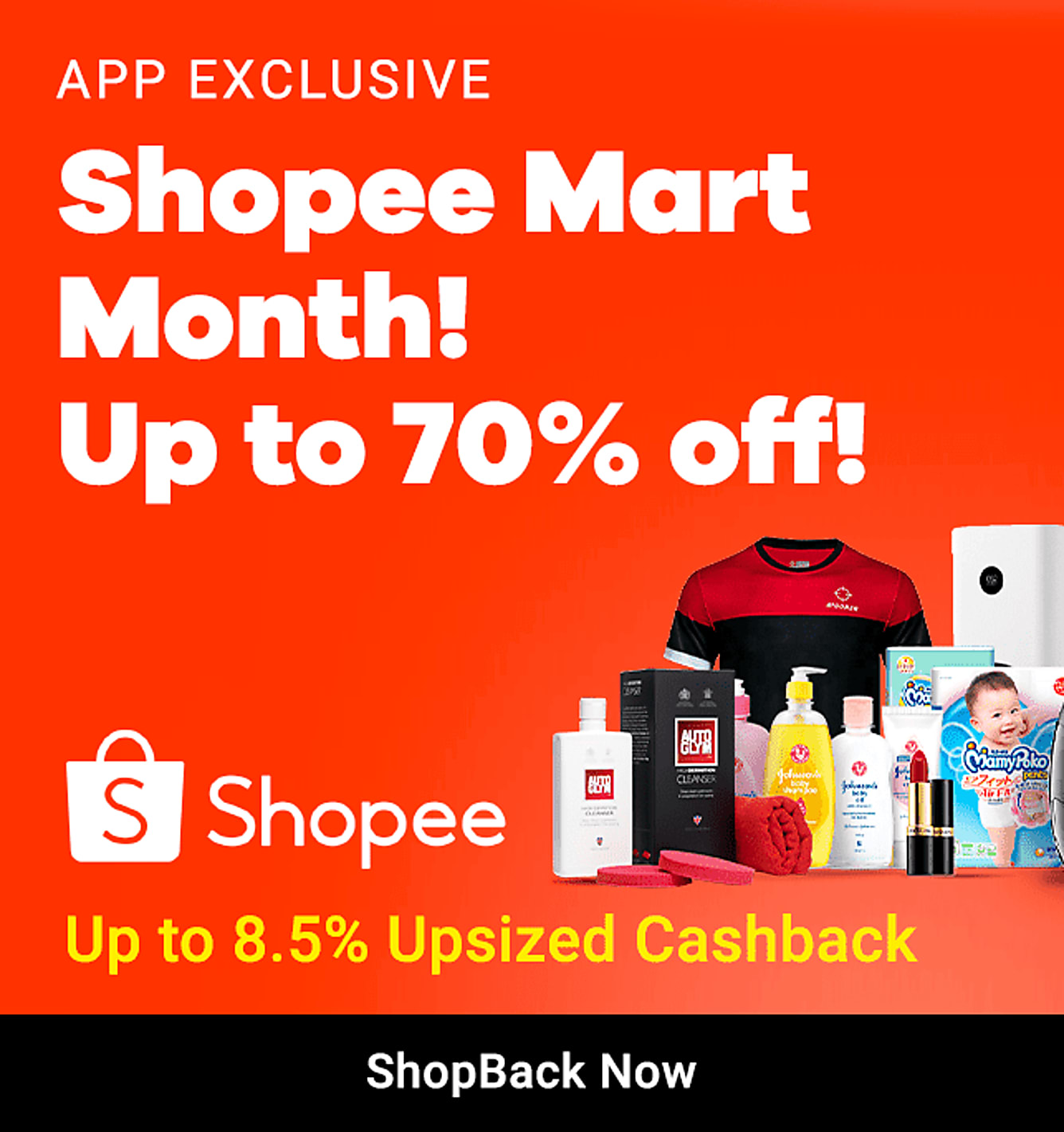Shopee Flash Sale 5 Apr - 30 Apr