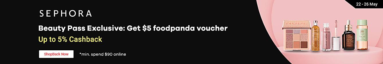 sephora x foodpanda